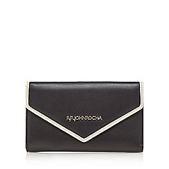 RJR.John Rocha - Black large flap over purse