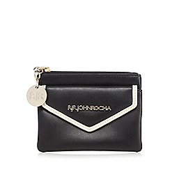 RJR.John Rocha - Black contrast edge small coin purse