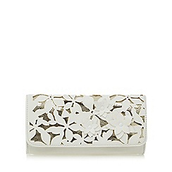 RJR.John Rocha - White floral applique medium purse