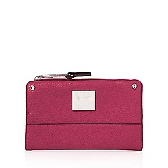 Principles by Ben de Lisi - Dark pink small fold over purse