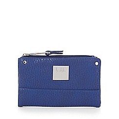 Principles by Ben de Lisi - Navy small fold over purse