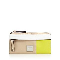 Principles by Ben de Lisi - Beige colour block purse