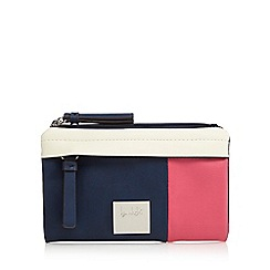 Principles by Ben de Lisi - Navy colour block purse