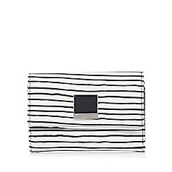 Principles by Ben de Lisi - Navy striped print purse