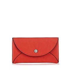 Betty Jackson.Black - Red large flap over purse