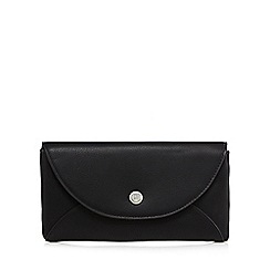 Betty Jackson.Black - Black large flap over purse