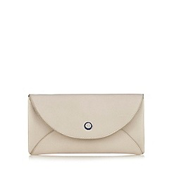 Betty Jackson.Black - Beige large flap over purse