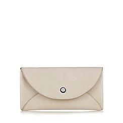 Betty Jackson.Black - Beige large flap over purse