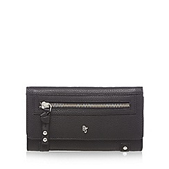 Betty Jackson.Black - Black large flap-over purse