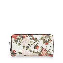 Call It Spring - White 'Almighty Spot Floral' purse