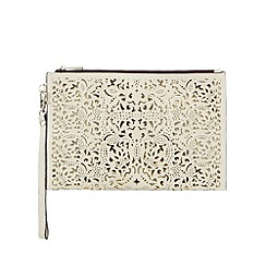 Call It Spring - Cream 'Arjoan' cut-out wristlet