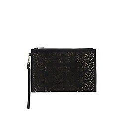 Call It Spring - Black 'Arjoan' cut-out wristlet