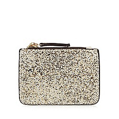 Call It Spring - Gold glitter coin purse