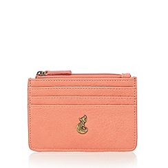 Mantaray - Coral leatherette coin purse