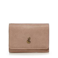 Mantaray - Light pink fox stud medium flap over purse