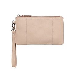 The Collection - Light pink wristlet