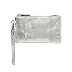 The Collection - Silver wristlet