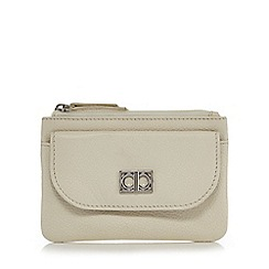 The Collection - Cream front pocket coin purse