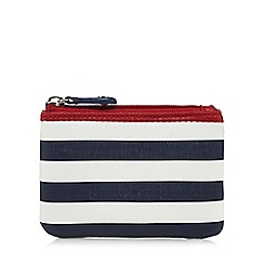 The Collection - Navy striped coin purse