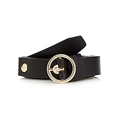 Red Herring - Black studded waist belt