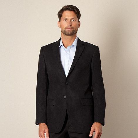 Thomas Nash - Big and tall navy soft textured blazer jacket