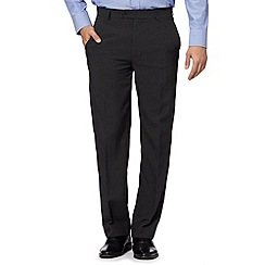 Thomas Nash - Grey easy-care formal trousers