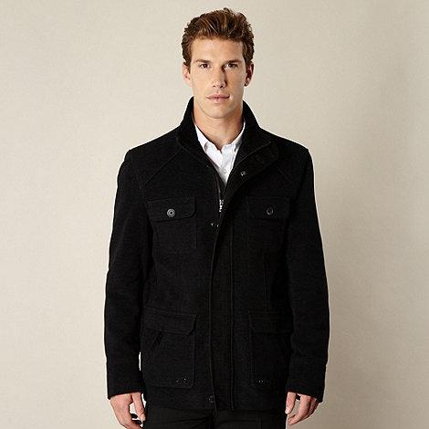Thomas Nash - Black moleskin jacket