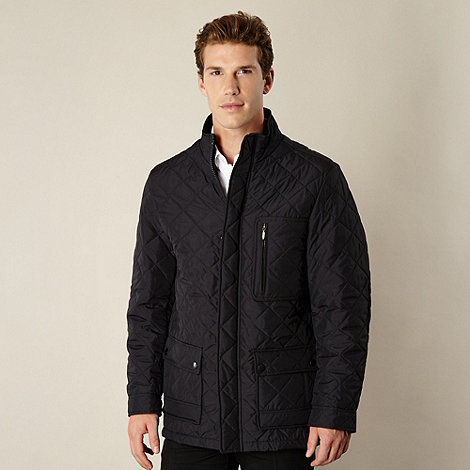 Thomas Nash - Navy quilted jacket