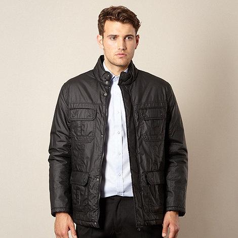 Thomas Nash - Black coated jacket