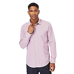 The Collection - Big and tall pink tonic tailored fit shirt