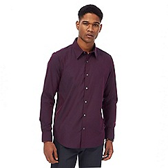 The Collection - Purple tonic tailored shirt