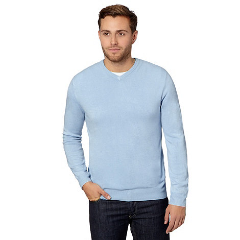 Thomas Nash - Light blue V neck jumper