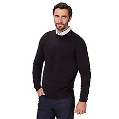 The Collection - Black crew neck jumper