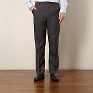 Thomas Nash - Grey pinstriped trousers