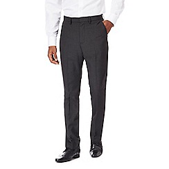 The Collection - Dark grey mini striped tailored fit trousers