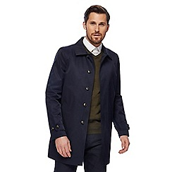 The Collection - Big and tall navy mac jacket