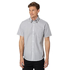 Thomas Nash - Grey circle short sleeved shirt