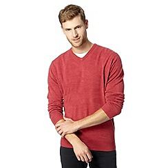 Thomas Nash - Pink V neck jumper