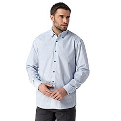 Thomas Nash - White floral long sleeved shirt