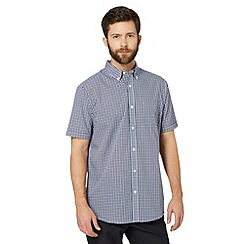 Thomas Nash - Purple multi tonal gingham shirt