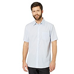 Thomas Nash - Blue tonal striped shirt