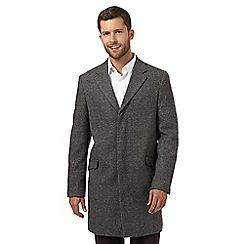 The Collection - Big and tall grey smart full length jacket