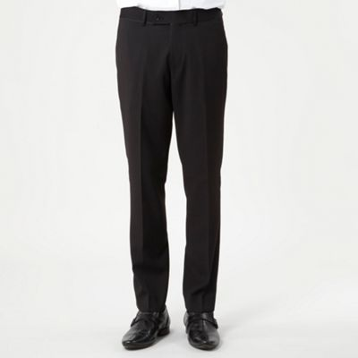 Black Albert Suit Trousers