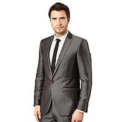 Red Herring Red Line - Light grey tonic suit jacket