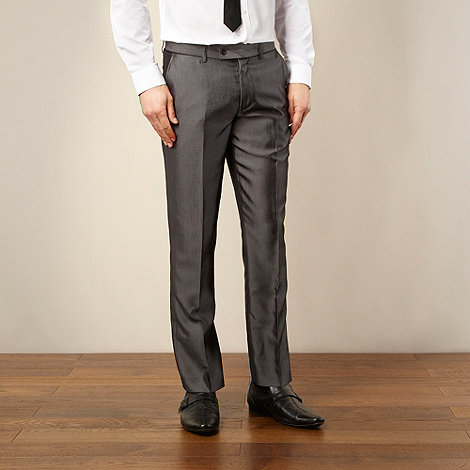 Red Herring Red Line - Light grey tonic suit trousers