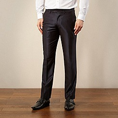 Red Herring Red Line - Blue tonic suit trousers