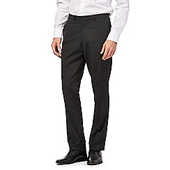 The Collection - Dark grey mini striped trouser