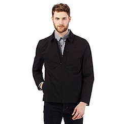 The Collection - Big and tall black Harrington jacket