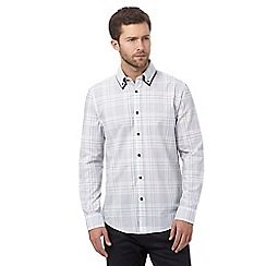 The Collection - White checked tailored fit shirt