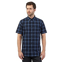 The Collection - Navy checked shirt